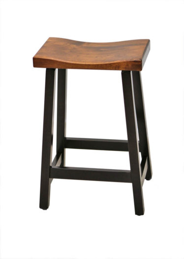 "24"" Cherry Urban Bar Stool"
