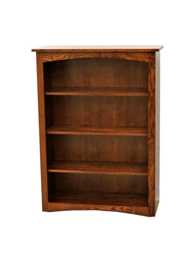 "48"" MC Shaker Bookcase"