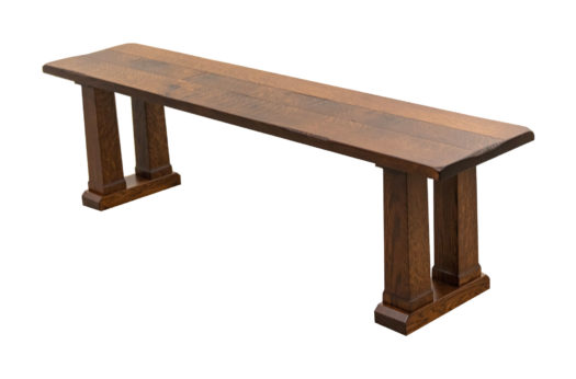 "64"" Rowan Trestle Bench"