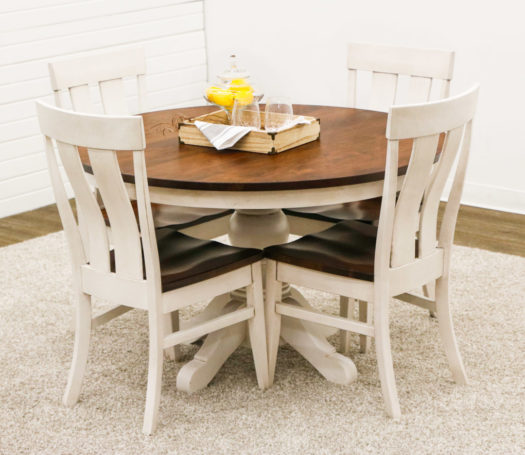 Preston Table with 4 Kinglet Chairs