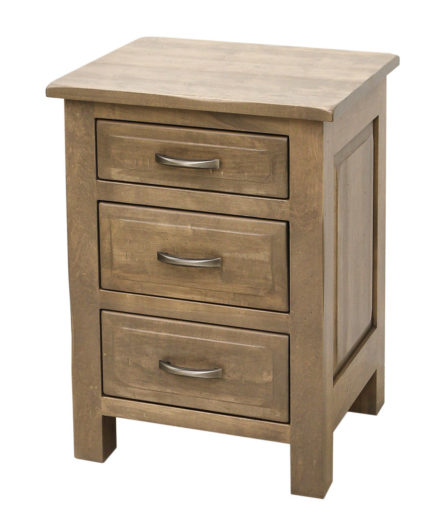 Savannah 3-Drawer Nightstand