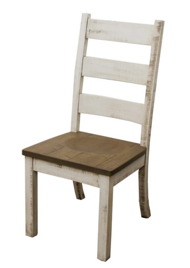Western High Back Side Chair
