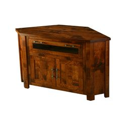 Timber Mill Corner TV Stand