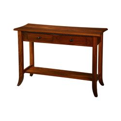 Carlisle Shaker Open Sofa Table