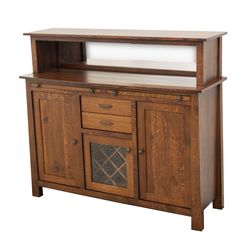 OBG Wine Server with Hutch Topper
