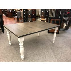 "44x66 4"" Farm Leg Table"