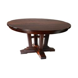 "60"" Round Albany Single Pedestal Table"