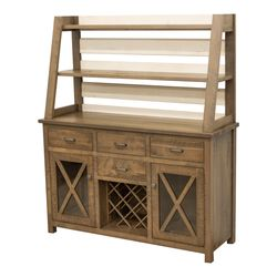Farm House Buffet with Hutch Topper