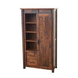 Arcadia Sliding Barn Door Bookcase