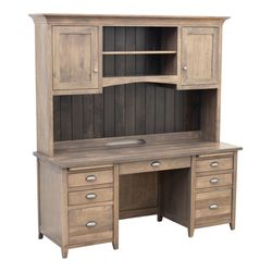 Phoenix Desk with Hutch Top