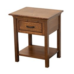 DCF Mission 1-Drawer, Open Nightstand