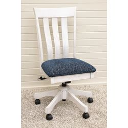 Curlew Desk Chair with Fabric Seat