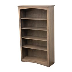 "60"" Maple Shaker Bookcase"