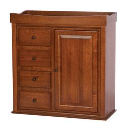 Heirloom Wardrobe Chest Changing Table