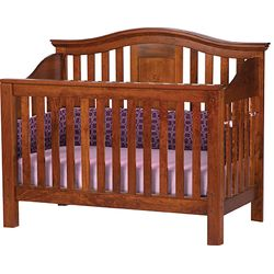 Gabrielle Crib with Panel Back
