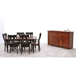 Settler's Farm Leg Dining Set