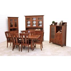 Shaker Hill Trestle Dining Set
