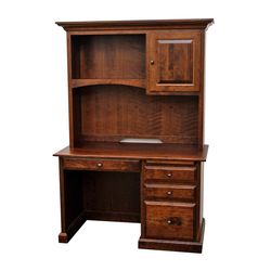 Traditional Student Desk with Hutch Top