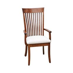 High OW Shaker Bent Back Arm Chair