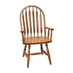 High Bent Paddle Arm Chair