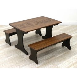 Child's Table & Benches Set