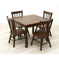 Child's Table & 4 Chairs Set