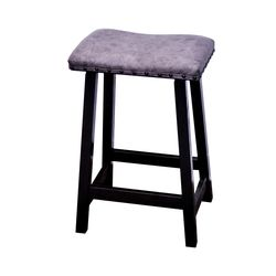 "24"" Urban Stool w/ Leather Seat"