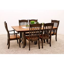 Greyson Trestle Dining Set