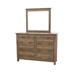 "62"" Savannah Tall Dresser & Mirror"