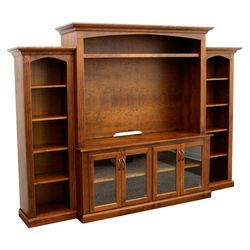 Fluted Entertainment Center