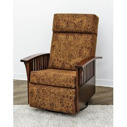 83-1 Reclining Mission Swivel Glider