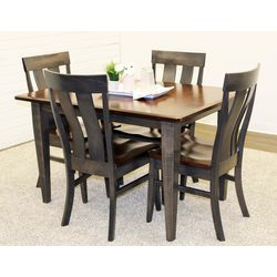 Chelsea Dining Table with 4 Kinglet Chairs