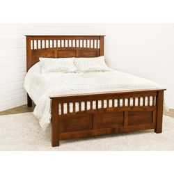 DCF Mission Antique Queen Bed