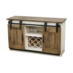 2T Barn Door Wine Server