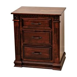Heirloom 3-Drawer Nightstand