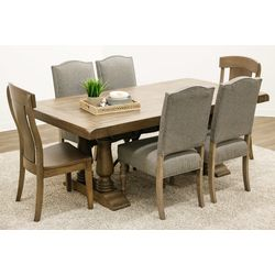 Alexandria Dining Table with 4 Shreveport Chairs & 2 Kowan Chairs