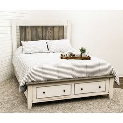 Capetowne Queen Bed with Footboard Drawers