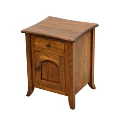Plymouth Enclosed Chairside Table
