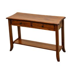 Plymouth Open Sofa Table