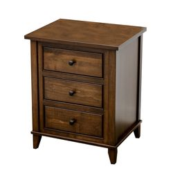 Denali 3-Drawer Nightstand