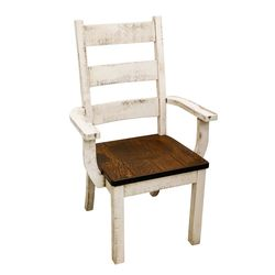 Western High Back Arm Chair