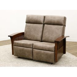 85-16 Gliding & Reclining Loveseat
