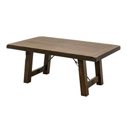 Settler's Trestle Dining Table